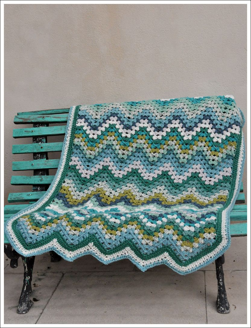 Crochet blanket for a baby boy  Crocheting Cross Stitch Smocking  Crochet Blanket For A Boy