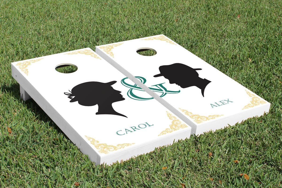 Pin By Victory Tailgate On Wedding Themed Cornhole Boards Pinterest