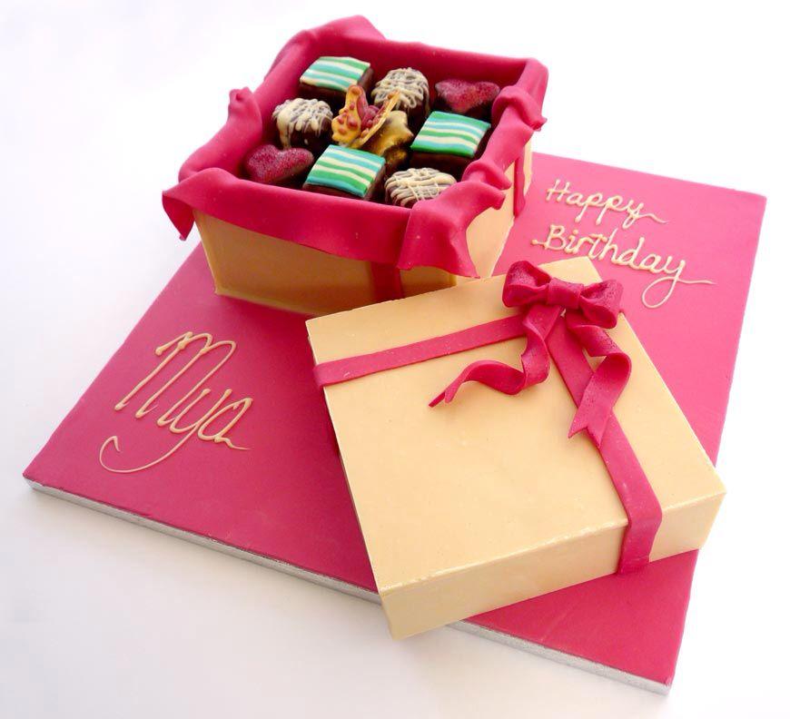 Box Of Chocolates Cake Picture