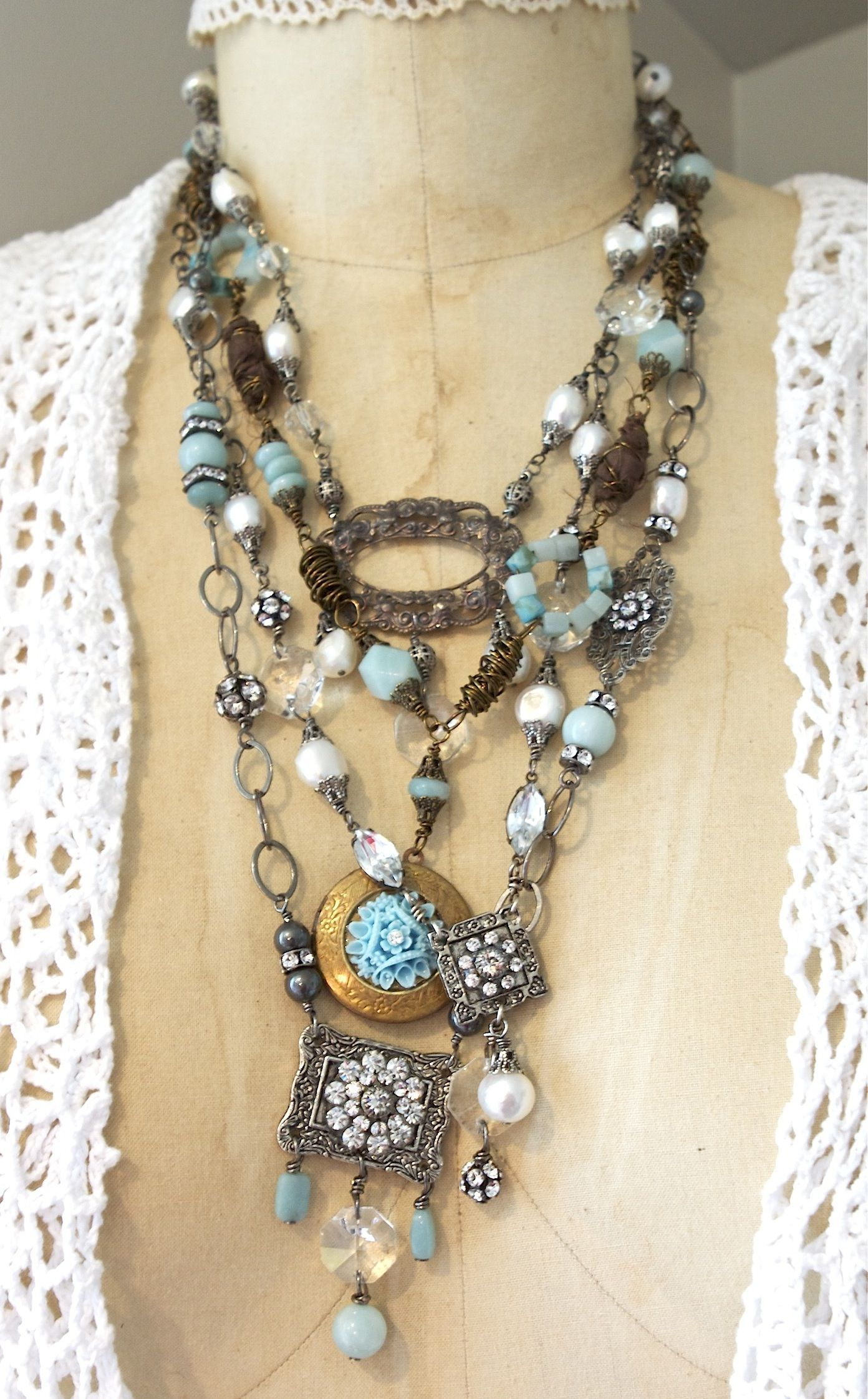 1000+ images about Repurposed Jewelry on Pinterest ...