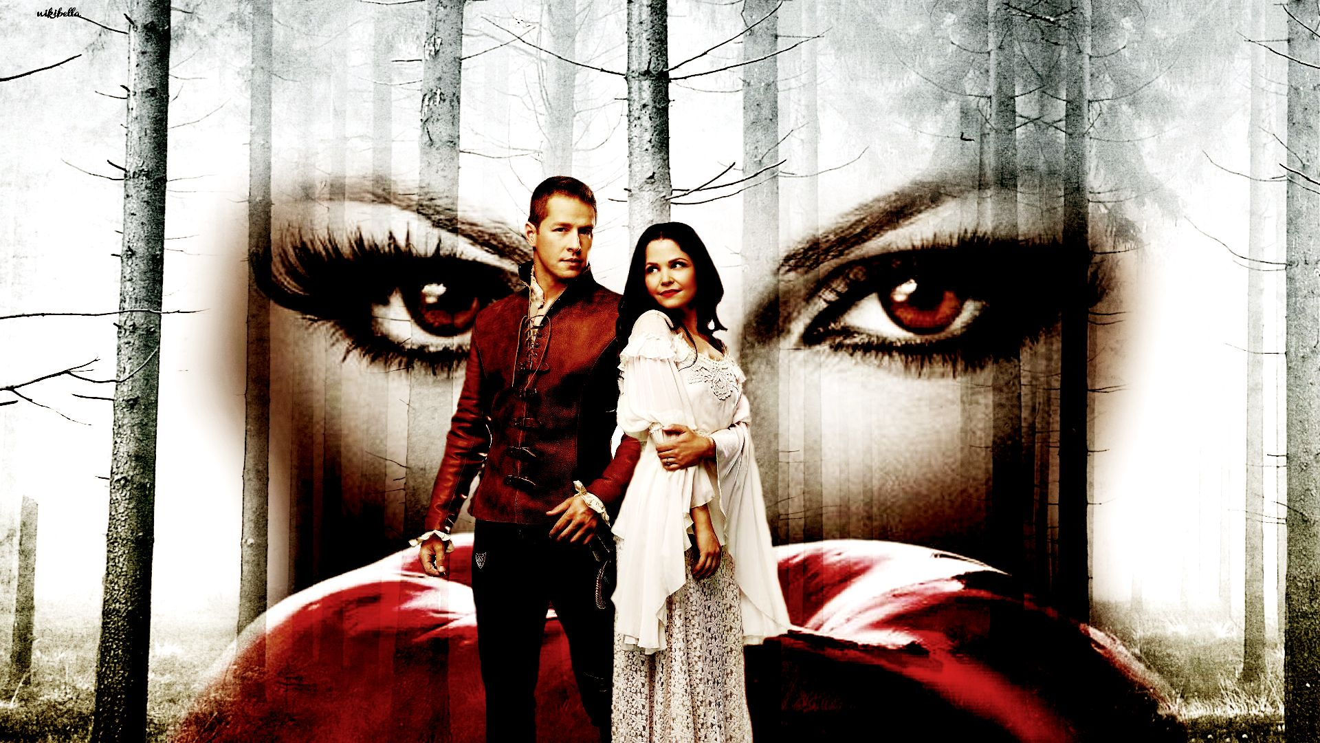 snow charming once upon a time