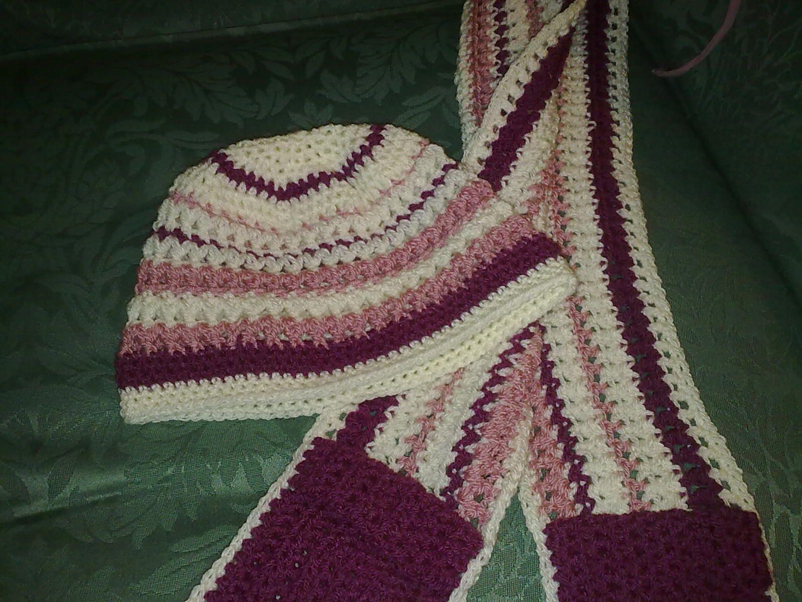 Crochet hat and scarf set crochet hats pinterest