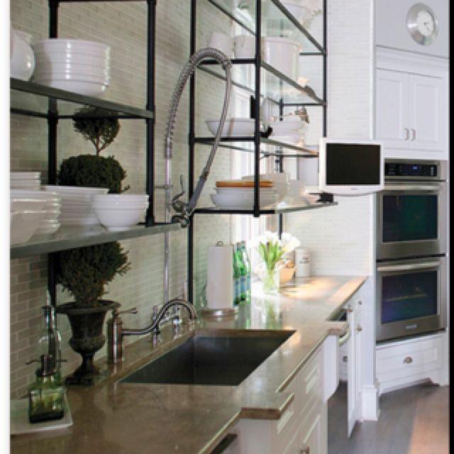 Industrial Kitchen Shelving !??!!
