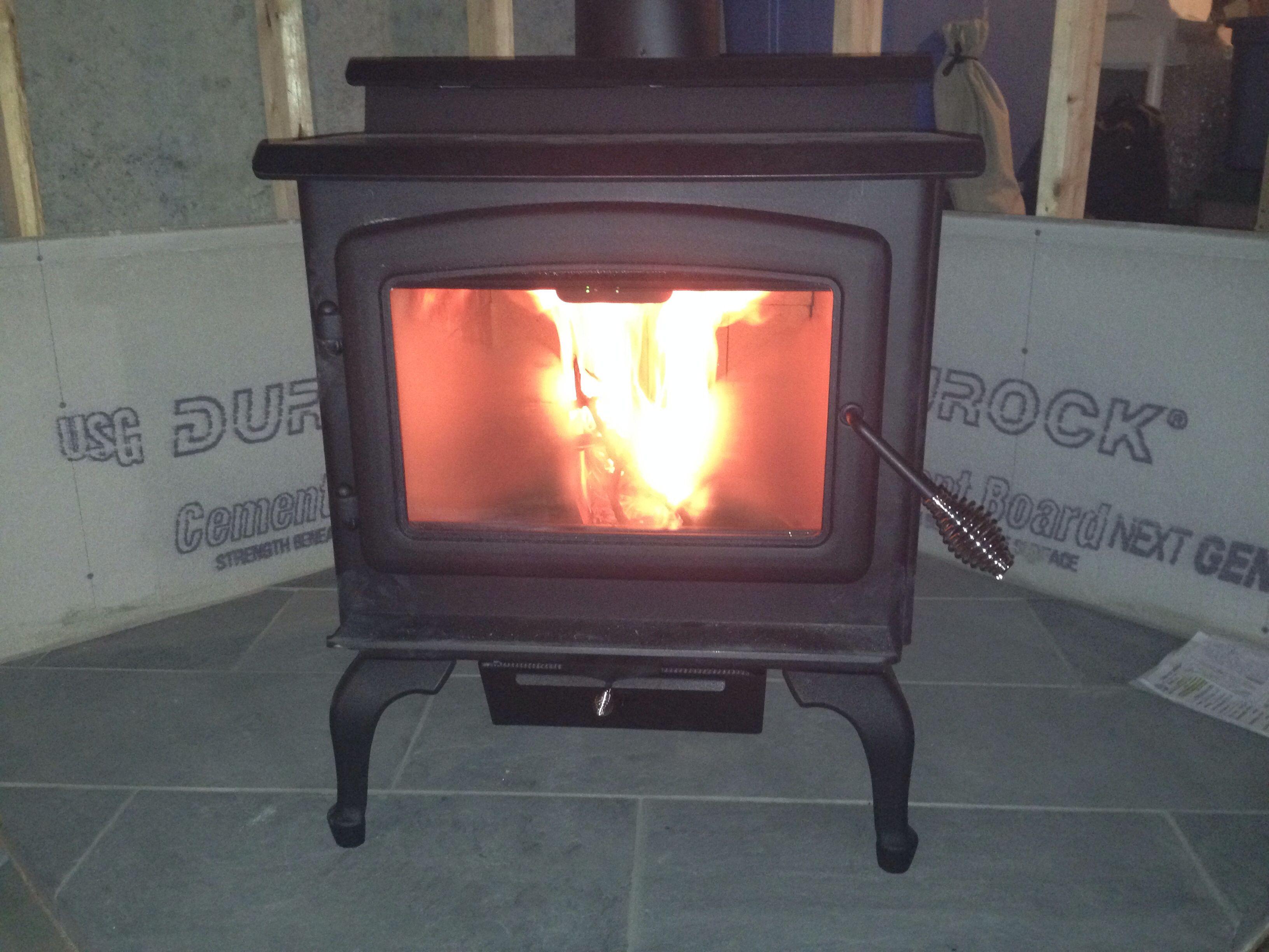 kodiak wood stove basement ideas pinterest