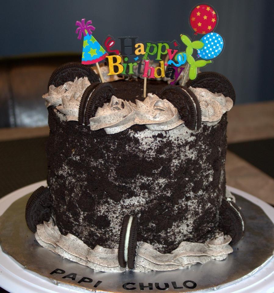 Oreo Birthday Cake!
