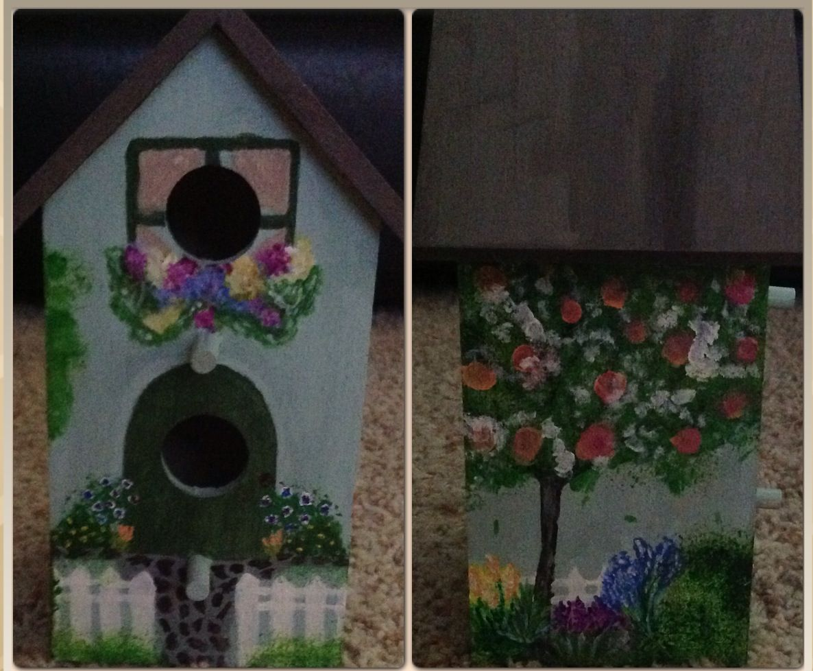 Bird House Decorating Good Ideas Pinterest