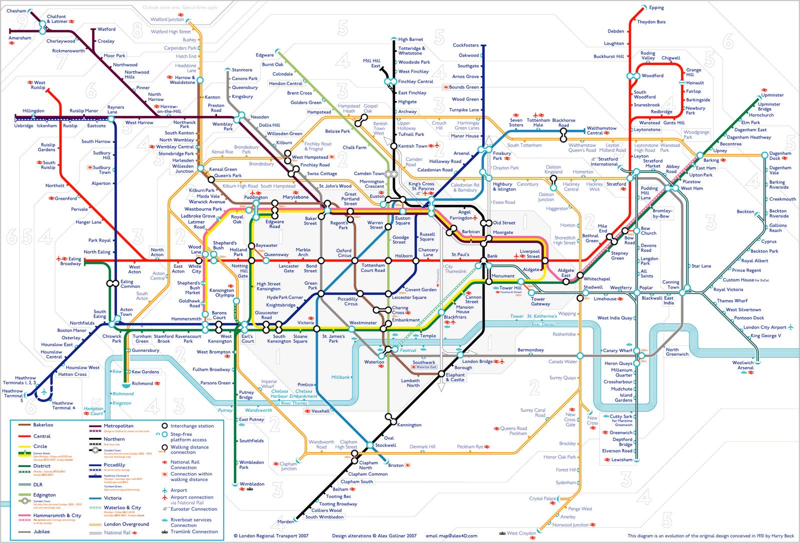 London subway maps