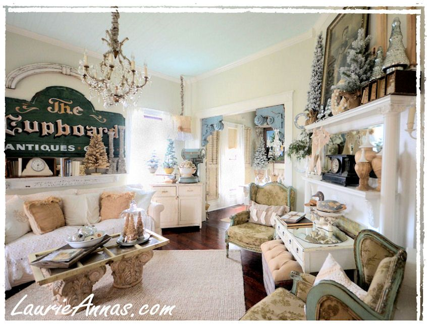 Farmhouse living room home decor pinterest for Farmhouse living