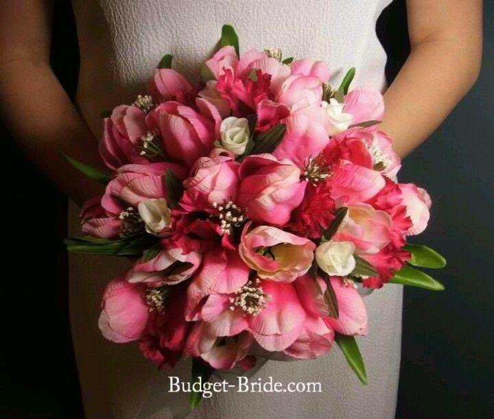 Wedding BouquetsHot Pink Tulip Bouquets