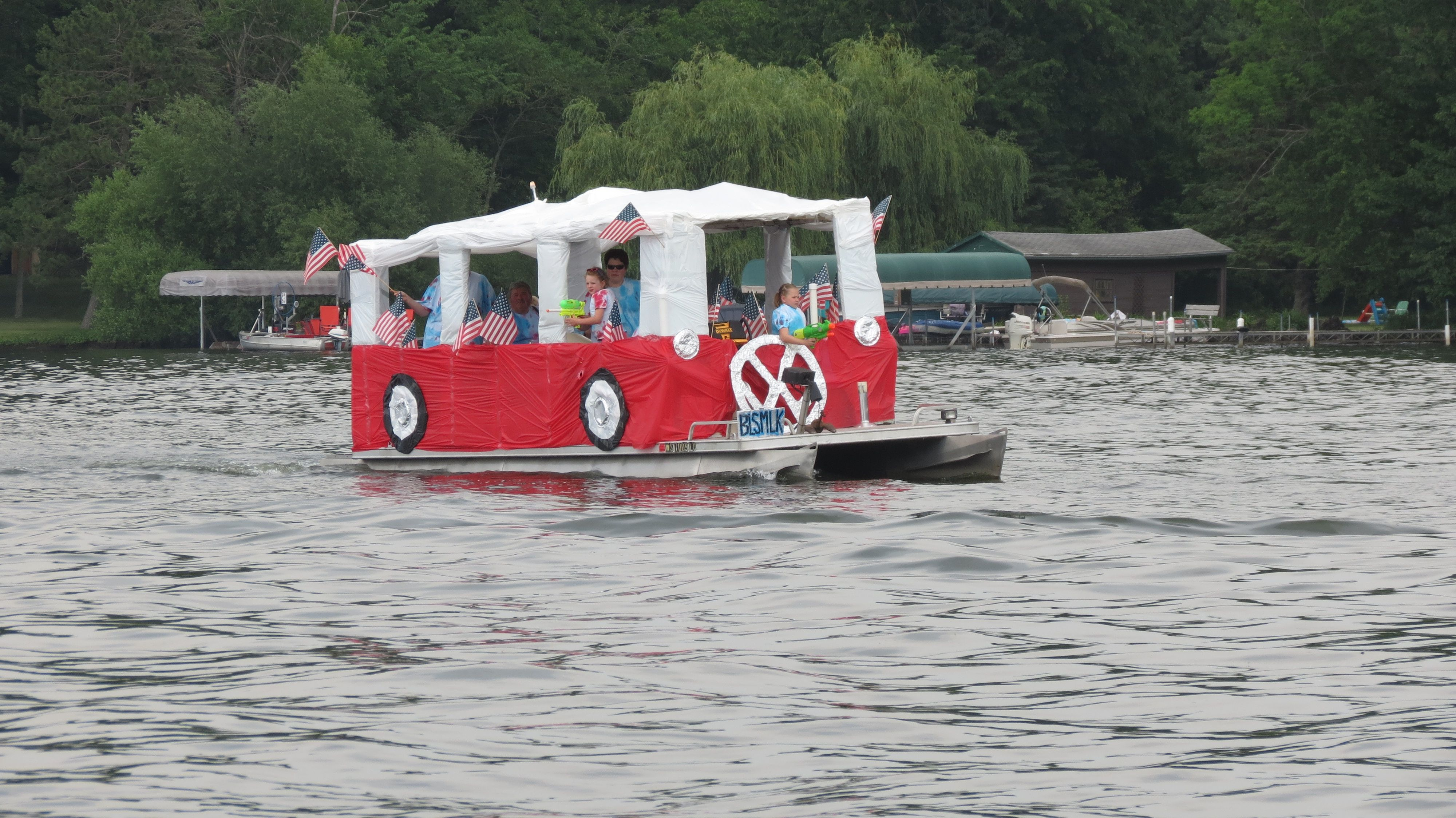 4th of july boat decorating ideas