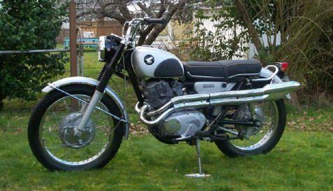 Honda 305 Scrambler Motorcycle | disrespect1st.com