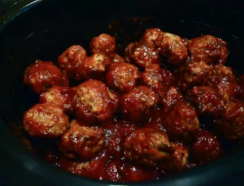 Crock-pot cocktail meatballs | Recipes | Pinterest