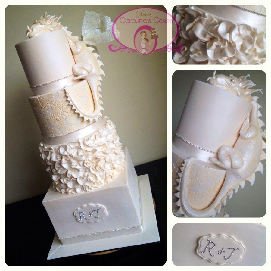 Wedding cake with medieval twist cake ideas pinterest