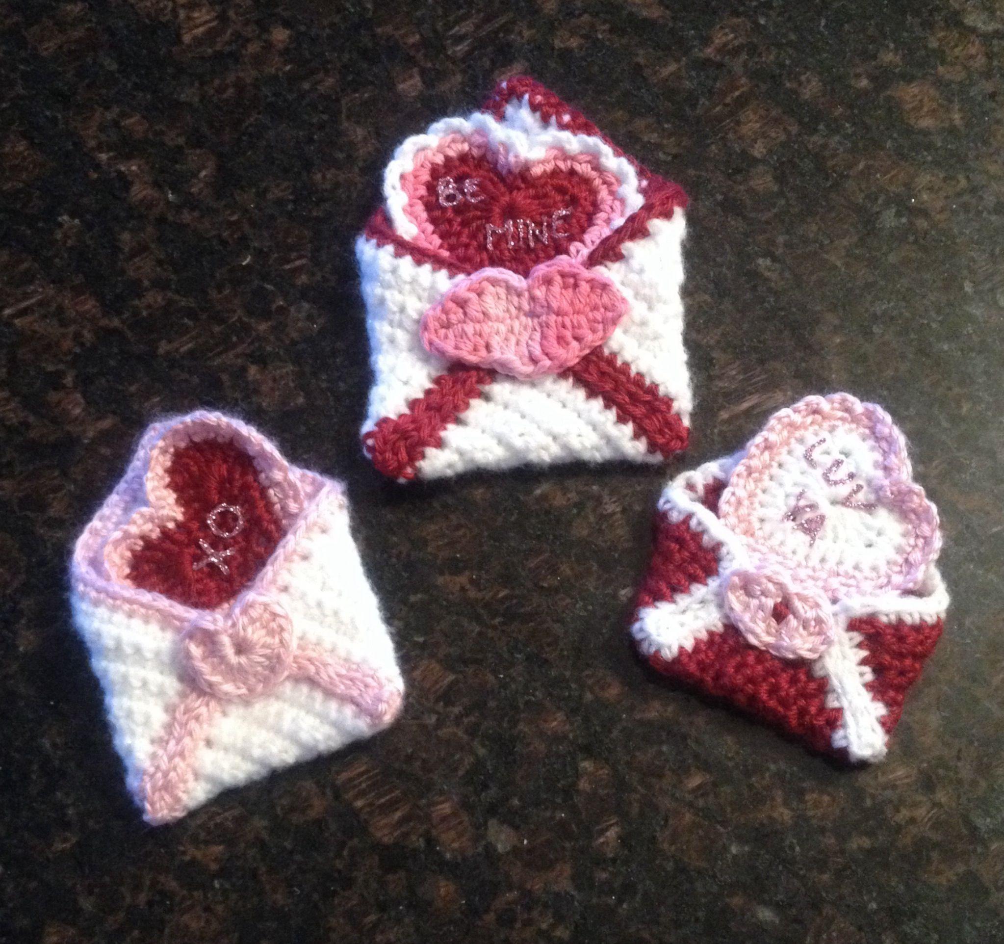Crochet Valentine : Crochet Valentines! Crochet ideas... Pinterest