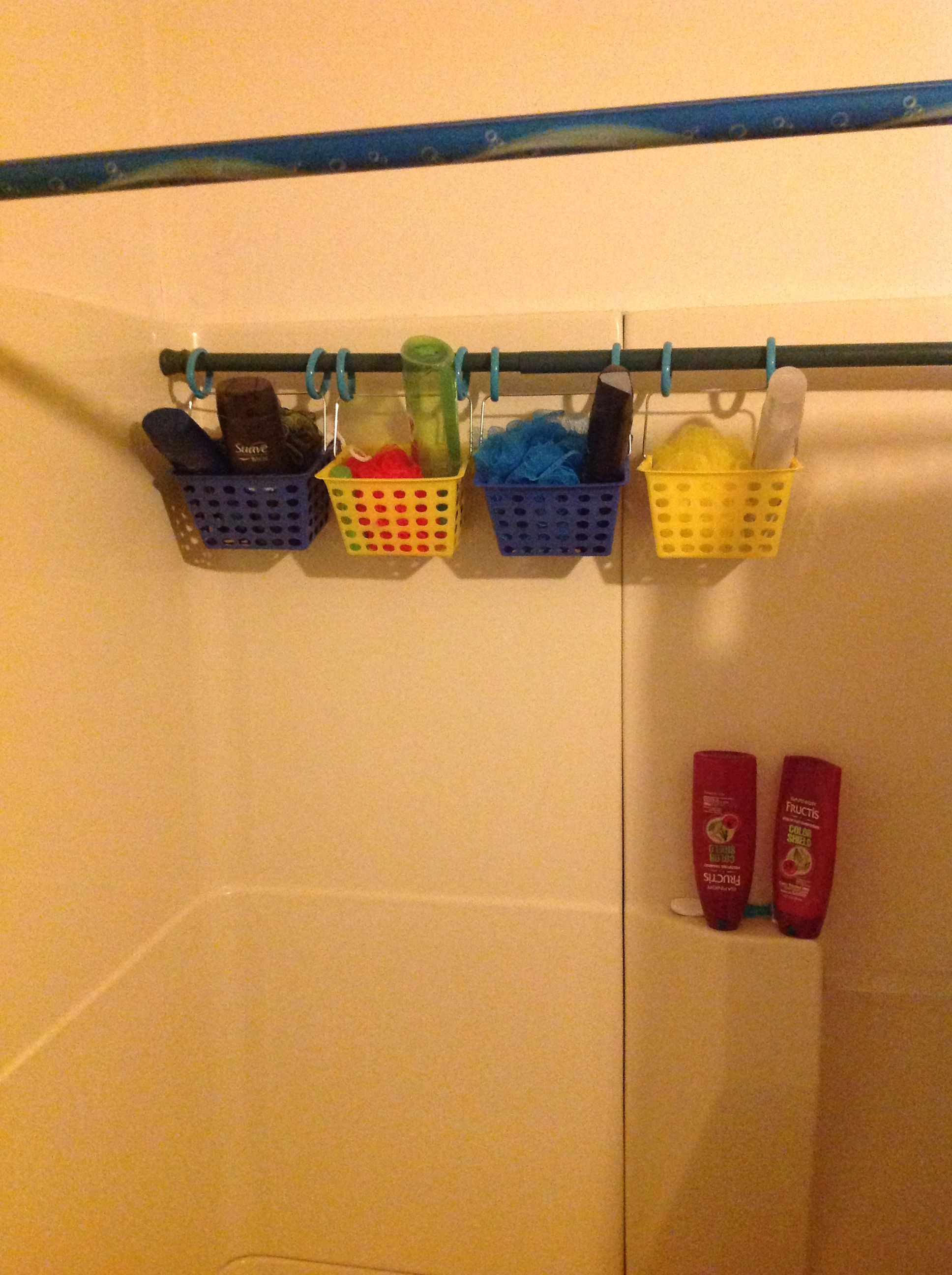 shower caddy idea for the home pinterest