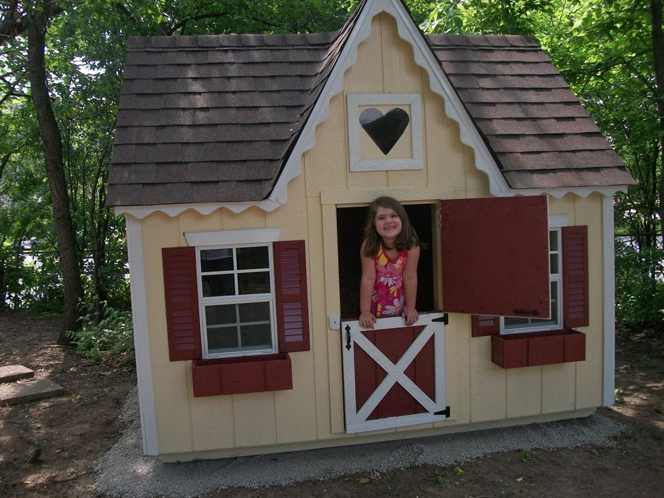 Playhouse Front Playhouse For The Girls Pinterest