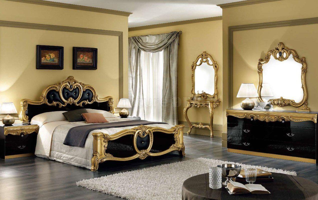 Black Gold Bedroom Beautiful Houses Pinterest