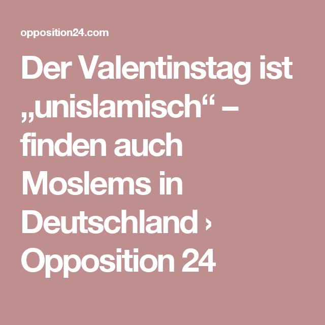 """Der Valentinstag ist """"unislamisch"""" – finden auch Moslems in ..."""