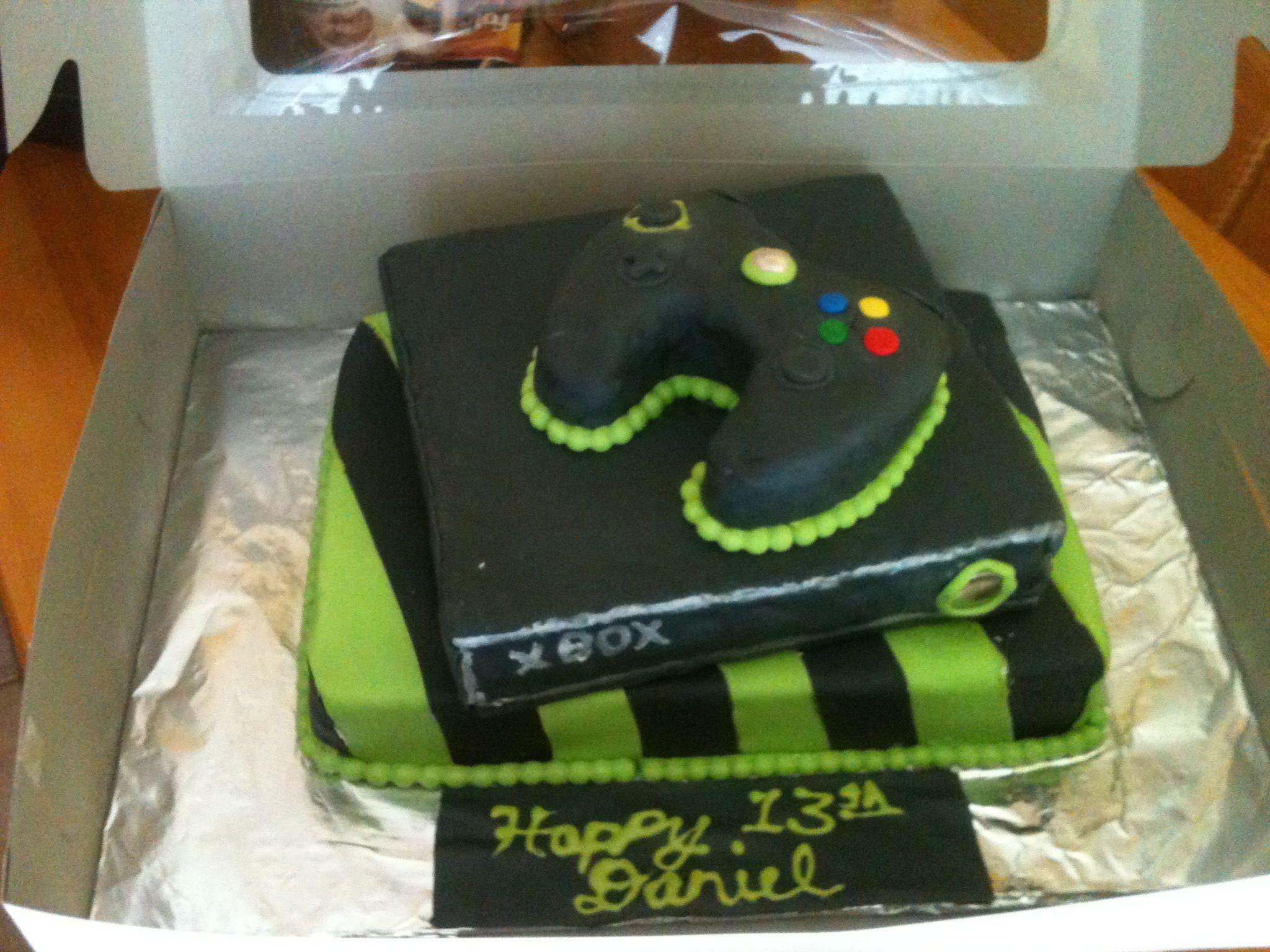 XBox cake  Cakes  Pinterest