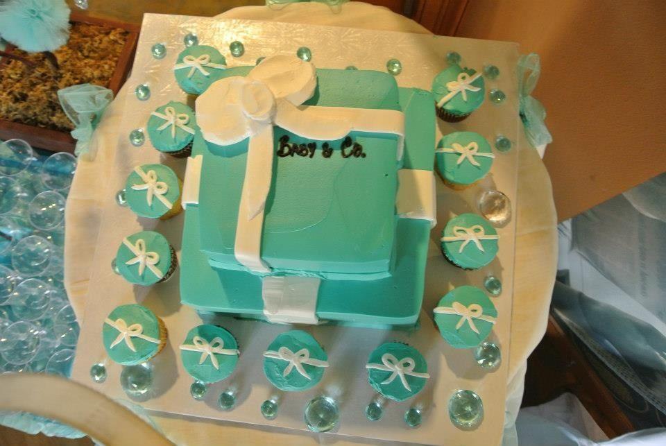tiffany baby shower cake tiffany baby shower pinterest