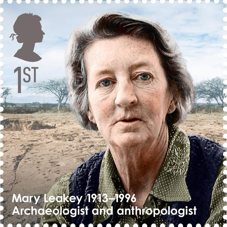 Mary Leakey Historical Pinterest