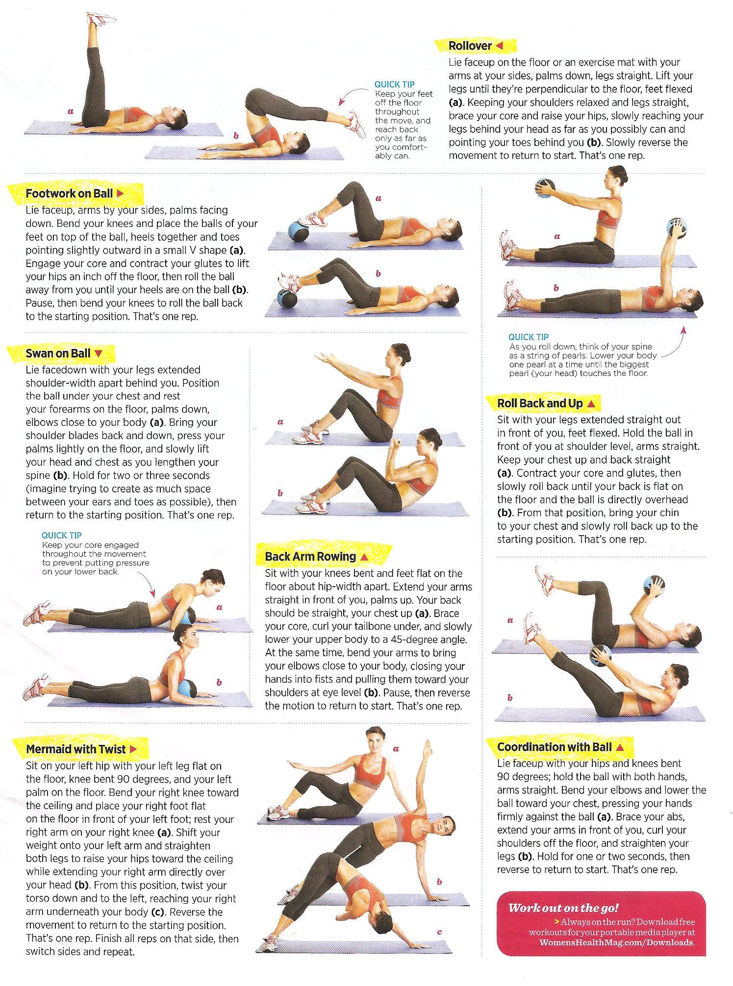 floor abs abdominal exercises pinterest ForFloor Ab Workouts