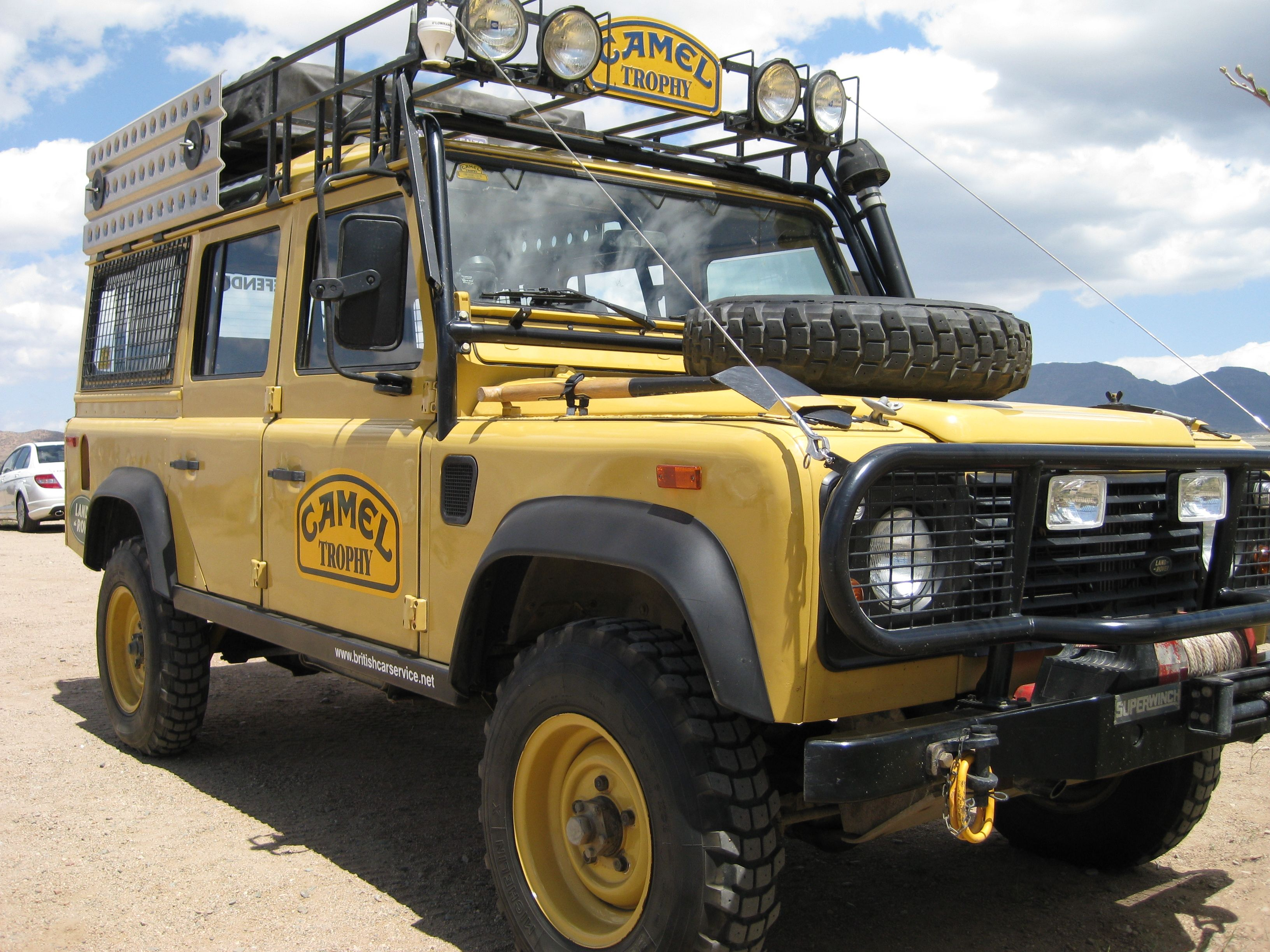 Camel Trophy Land Rover Defender 110 Camel Trophy Land