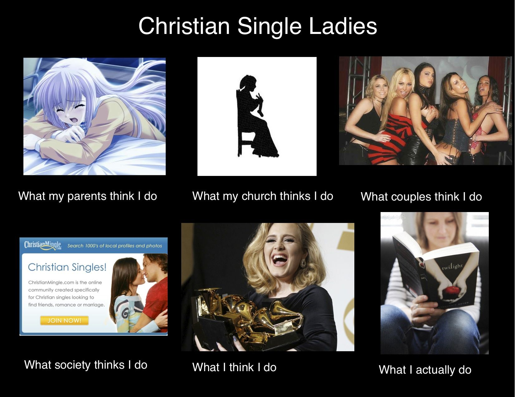 freising single christian girls Top 5 myths of christian dating  they'd play video games and eat pizza our sexuality is what gets us interested in women in the first place, and that's a good thing.