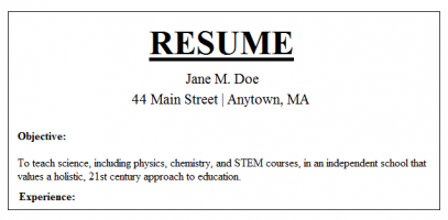 how to do a professional resume 29042017