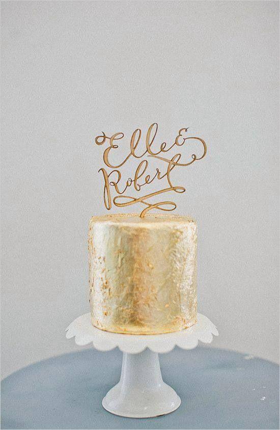 7 Modern Cake Toppers Brooklyn Bride Modern Wedding Blog