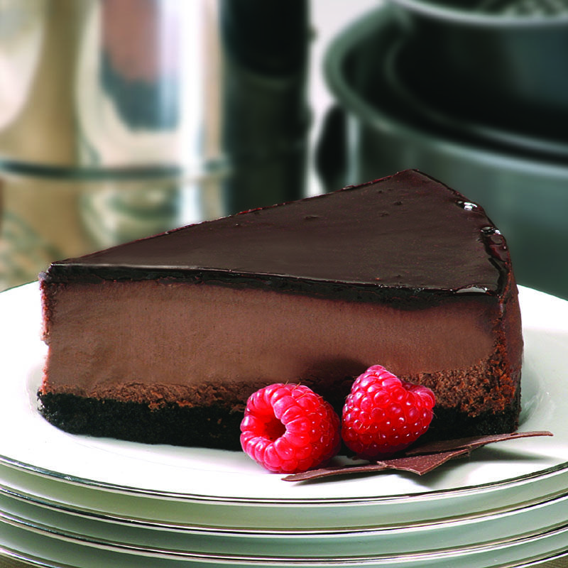 triple chocolate cheesecake | Deserts | Pinterest