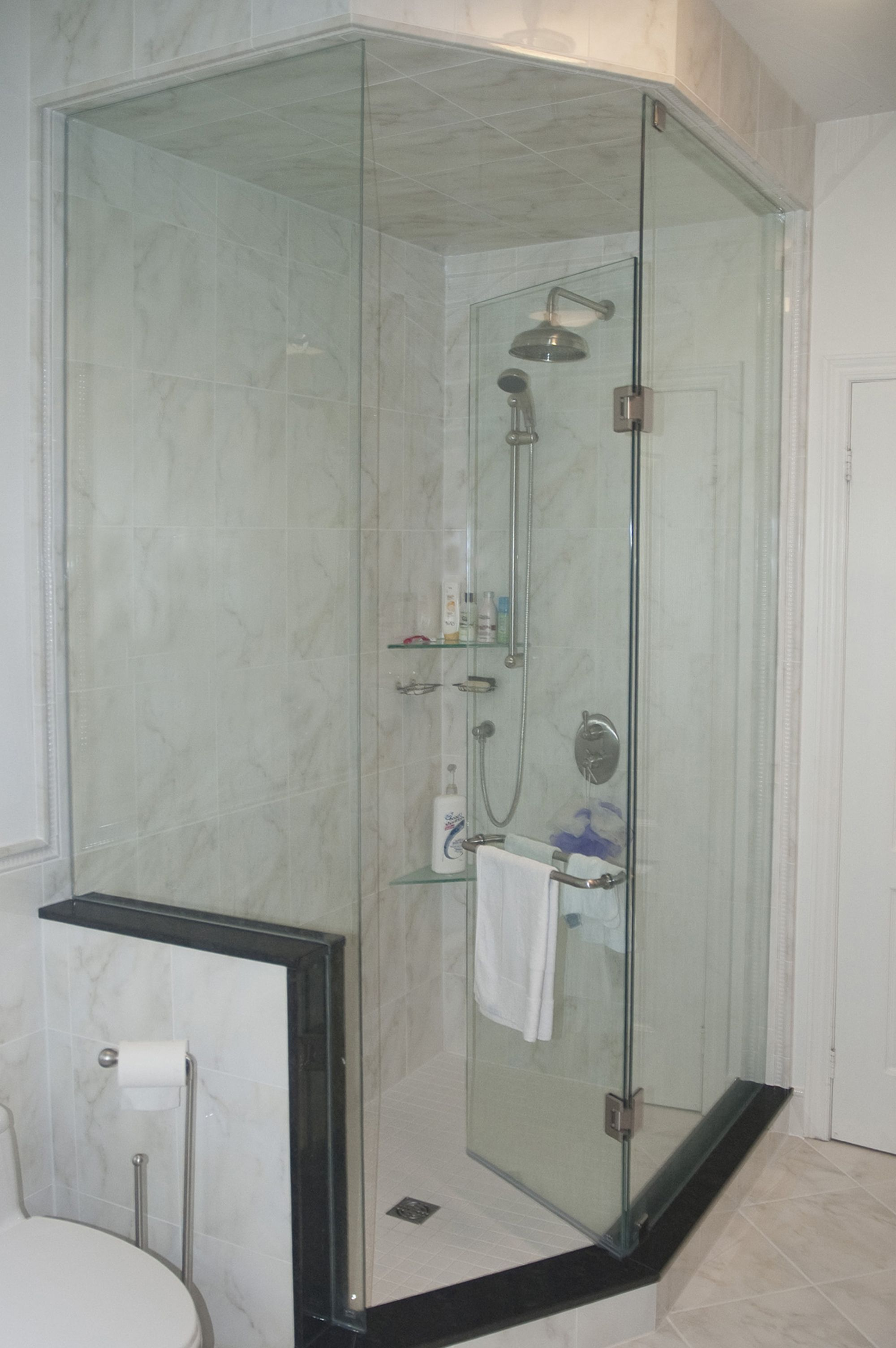Neo Angle Shower Enclosure Basement Pinterest