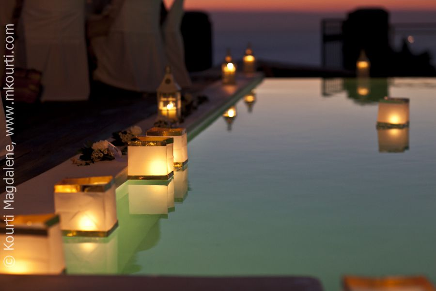 Floating Candles For Pool When I 39 M A Millionaire Pinterest