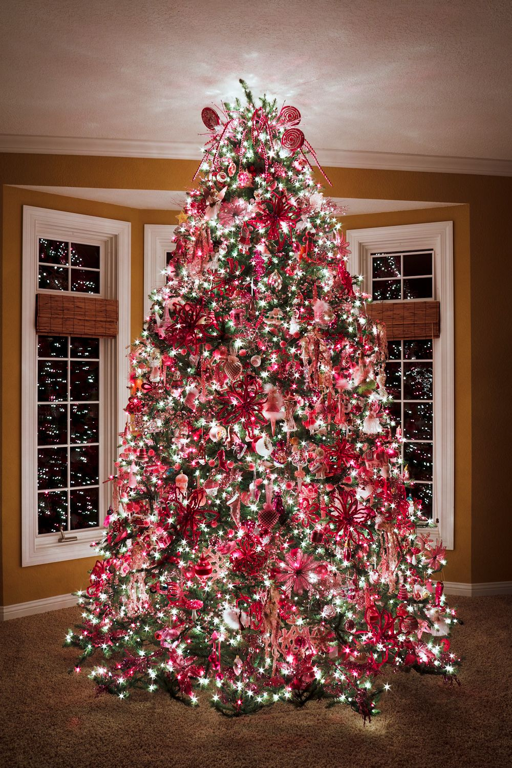 have a merry pink christmas christmas trees pinterest. Black Bedroom Furniture Sets. Home Design Ideas