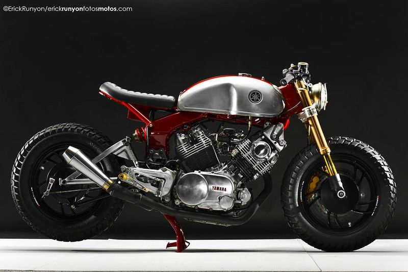 Yamaha Xv Cafe Racer By Docschops Uploaded Http Www