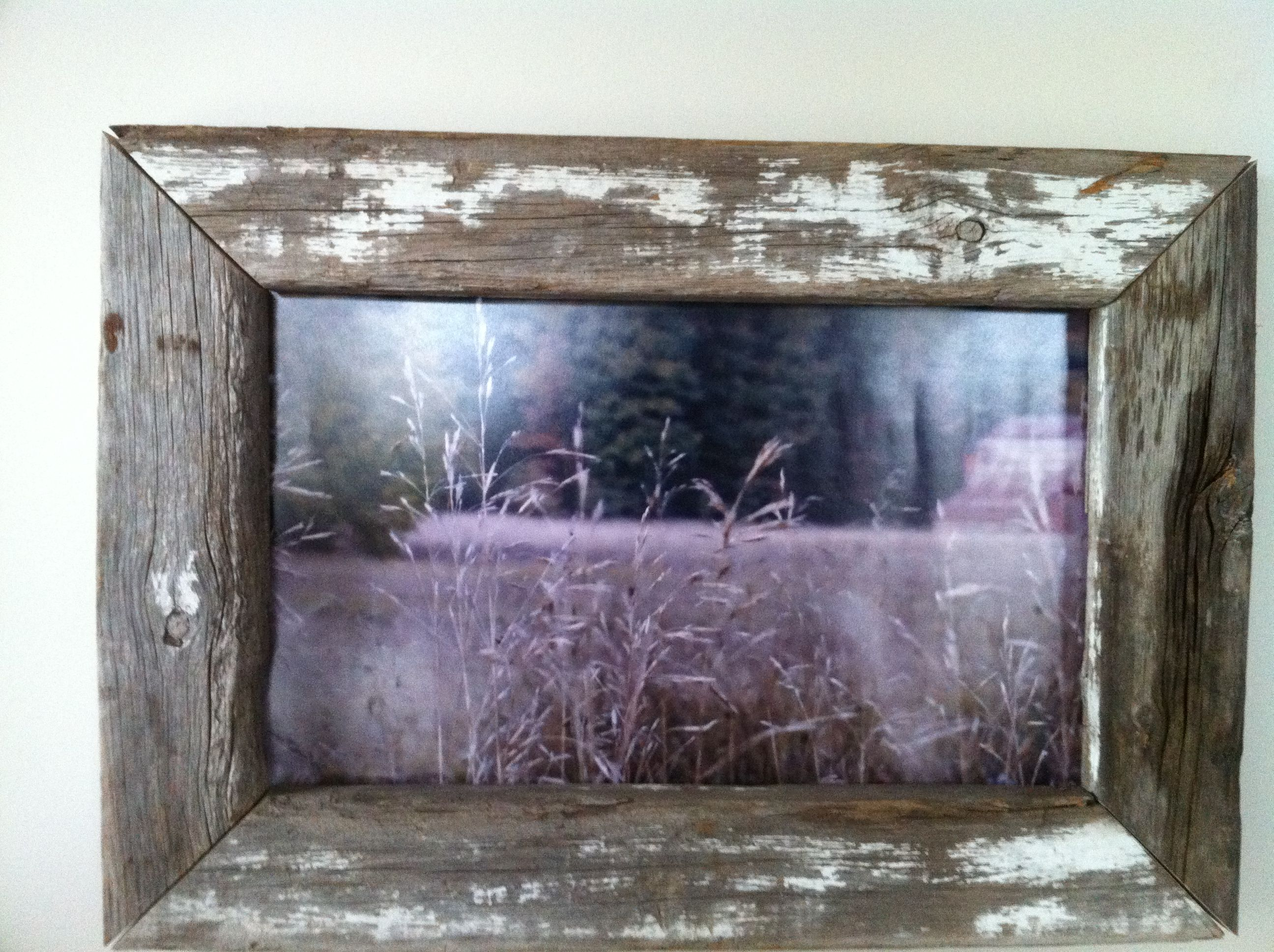 Old reclaimed barn wood frame craft ideas pinterest for Making craft projects from old barn wood