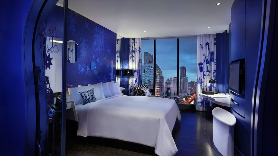 Cobalt blue bedroom for the home pinterest for Electric blue bedroom ideas