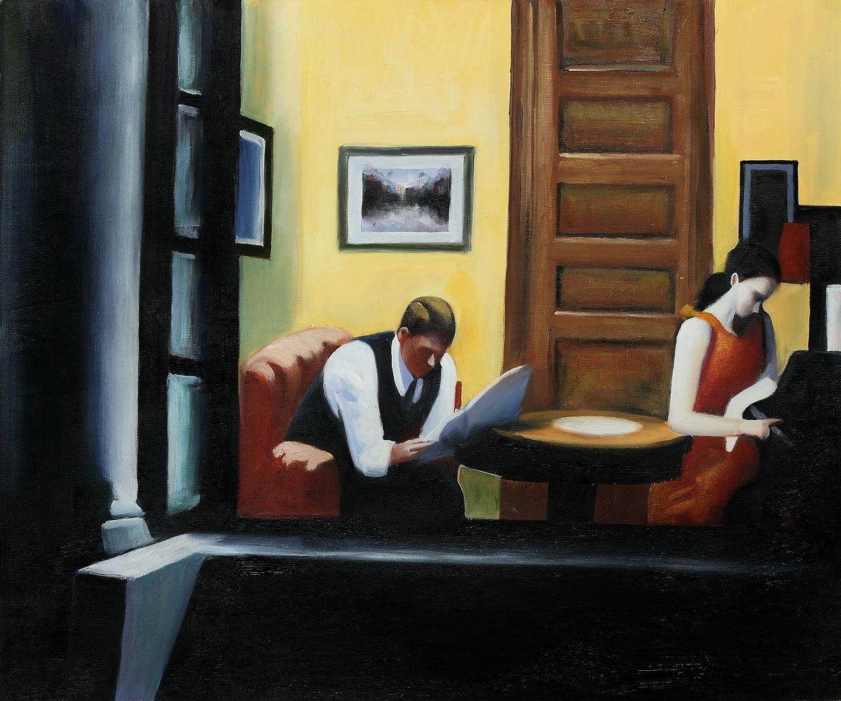 Hopper - Room in New York