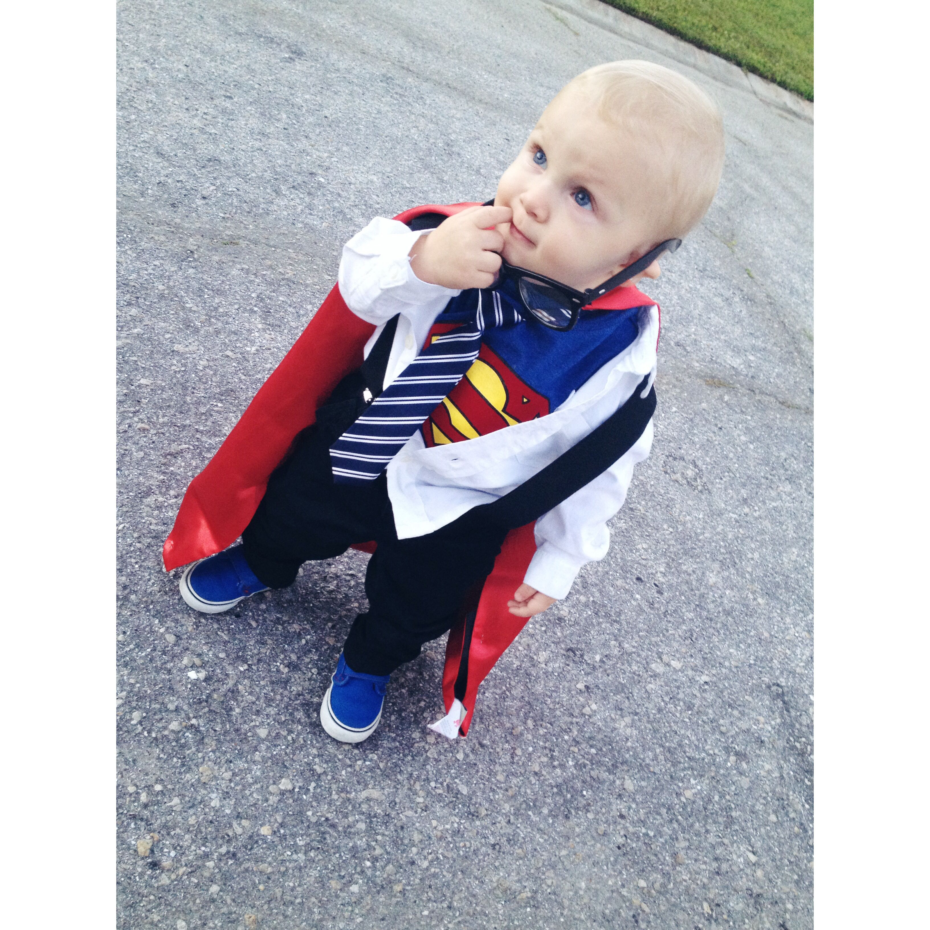 Diy Clark Kent Baby Boy Costume Sweet Love