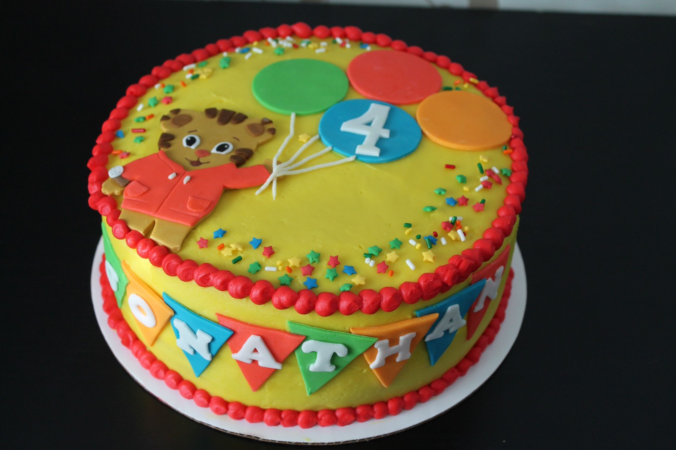 Pin Daniel Tiger Birthday Cake Cake on Pinterest