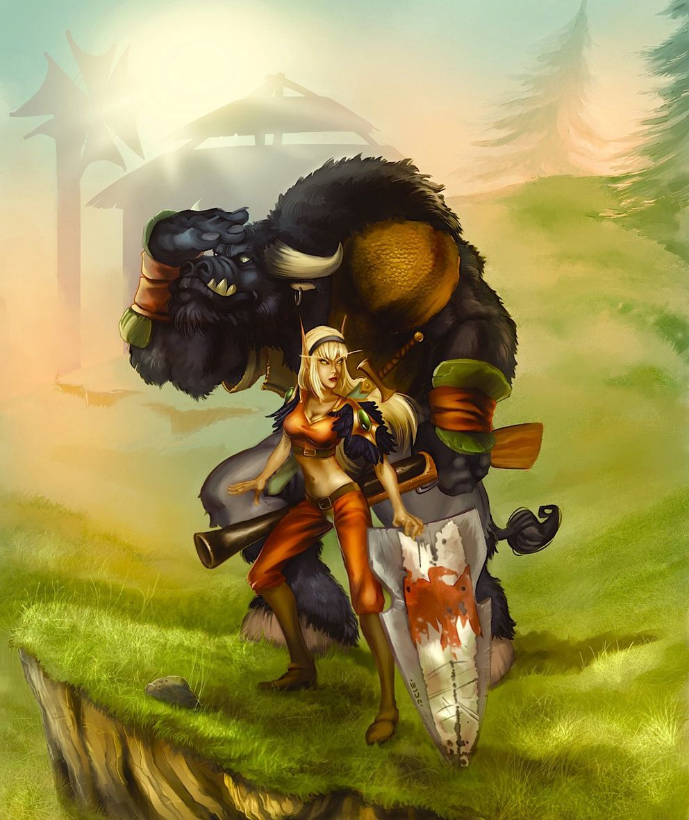Tauren railing a blood elf xxx image