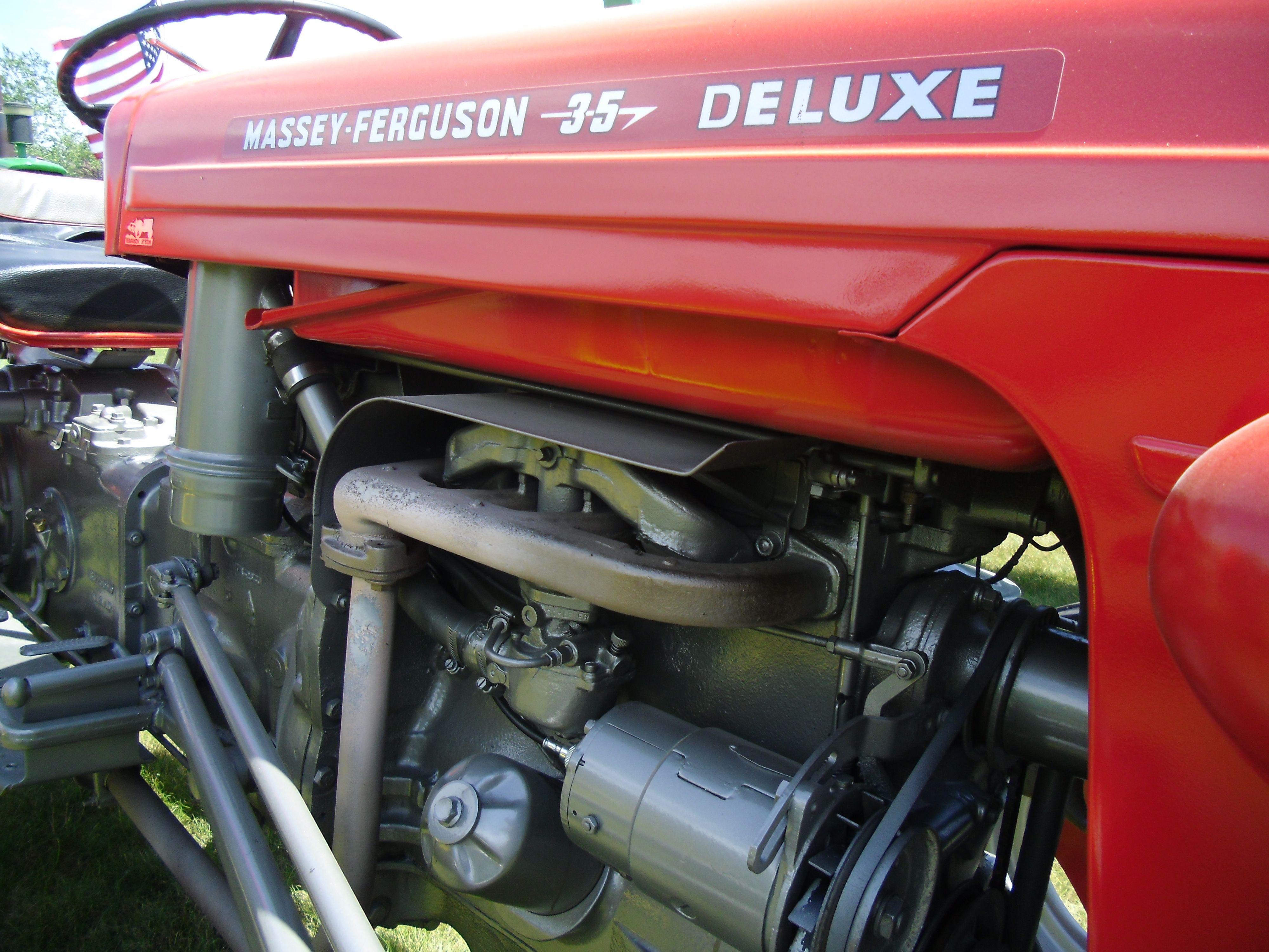 1961 Massey Ferguson 35 Diesel : Massey ferguson deluxe ford tractor pinterest