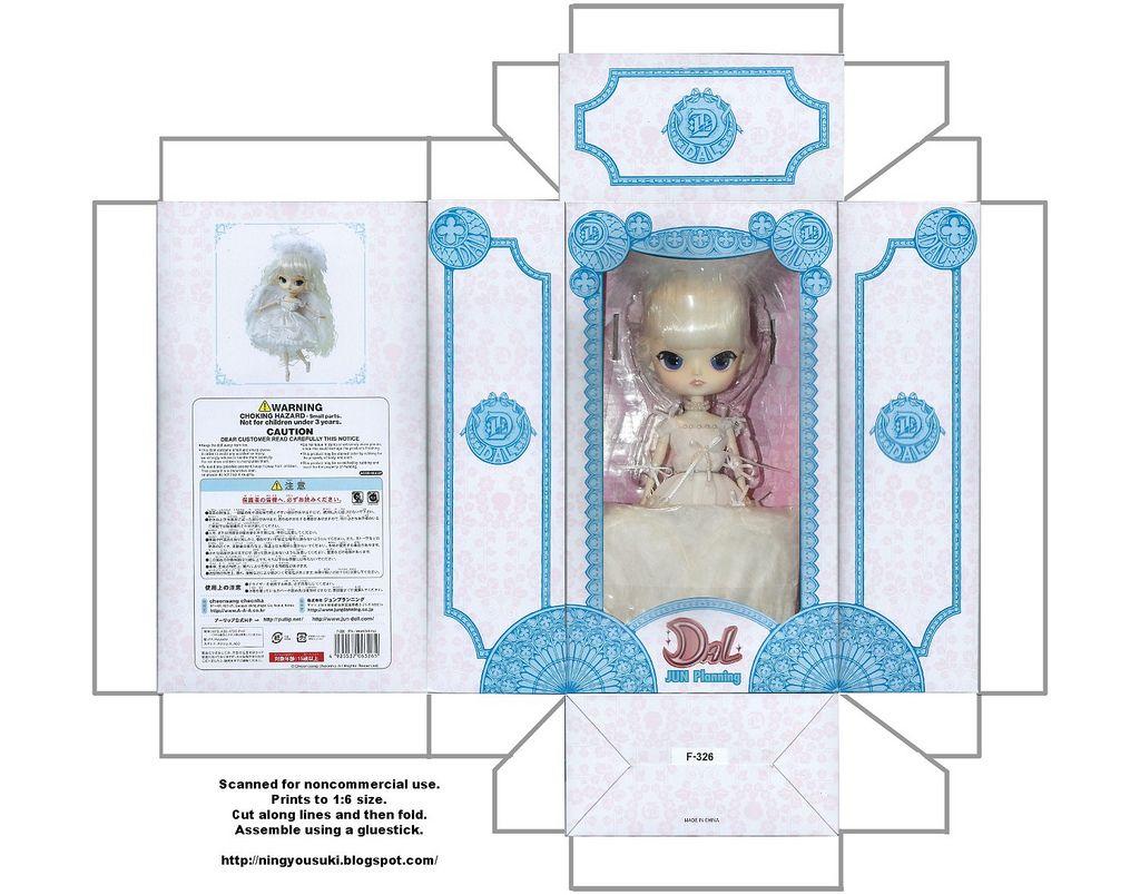Принты для поделок для кукол 40