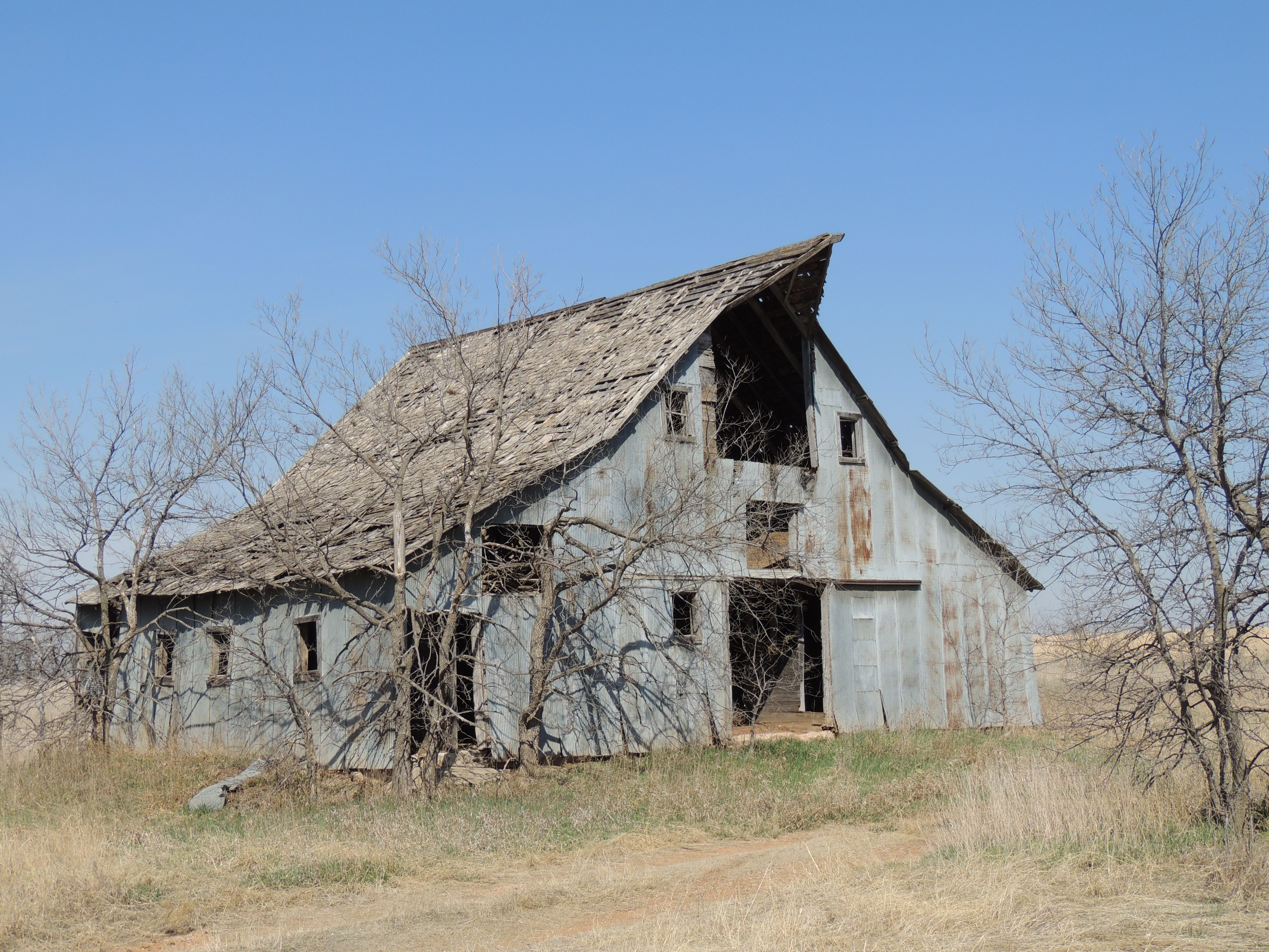 Kansas Barn Old Houses Barns Pinterest