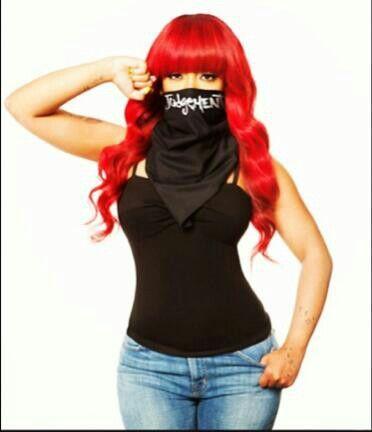 K Michelle Red Hair Bob Michelle red | *K. Michelle* | Pinterest