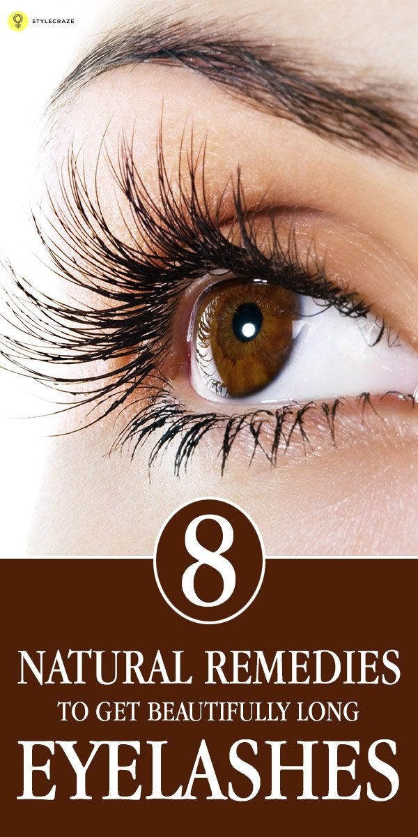 9 Natural Remedies To Get Beautifully Long Eyelashes