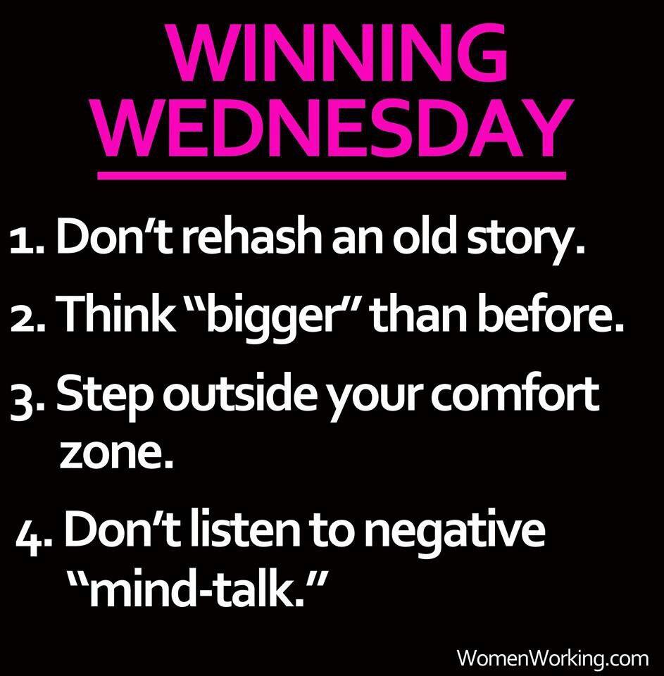 Winning Wednesday Inspirational Ideas Pinterest