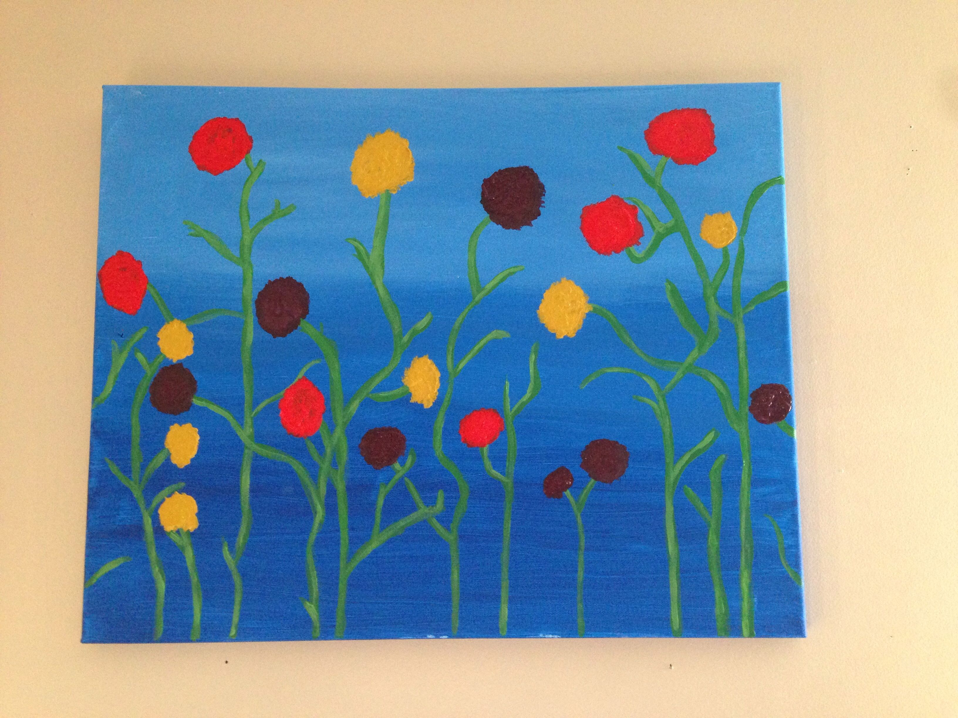 Easy acrylic painting painting ideas pinterest for Ideas for acrylic painting projects