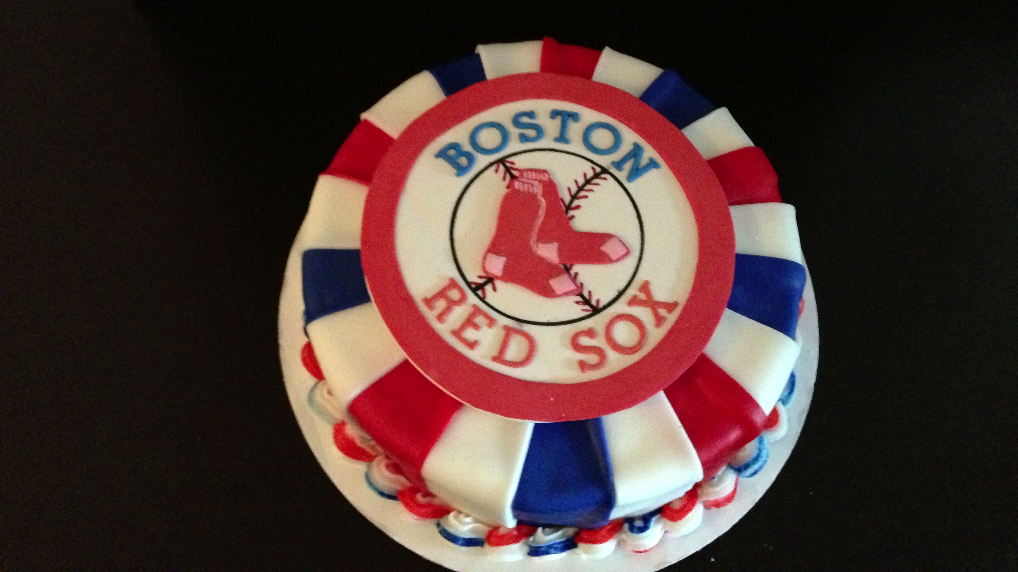 Pin Red Sox Rule Wedding Cake Topper Cake on Pinterest
