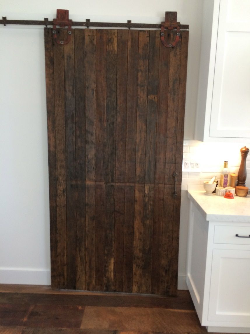 Pin by real antique wood on reclaimed barn door ideas for Door idea pinterest
